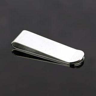 Κλιπ χαρτονομισμάτων από ανοξείδωτο ατσάλι με στρογγυλεμένη άκρη -
